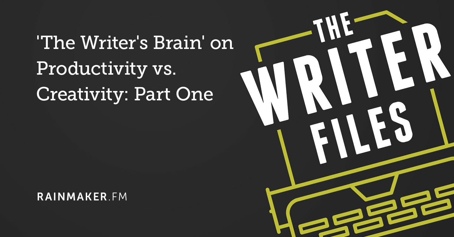 """The Writer's Brain"" su Produttività vs. Creatività: prima parte"