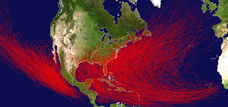 percorsi di uragano