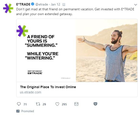 gli hack di Twitter promossi