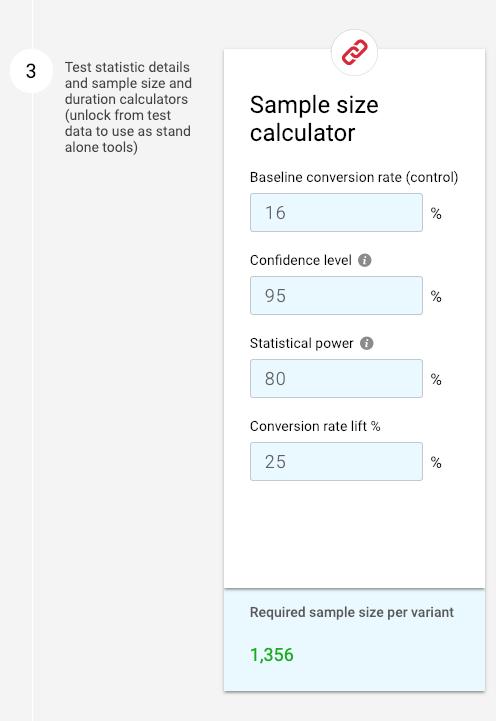 """calcolatrice di test a / b con grande MEI """"width ="""" 300"""