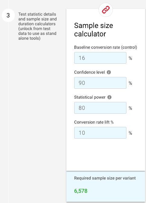 """calcolatrice di test a / b con 90% di alpha """"width ="""" 300"""