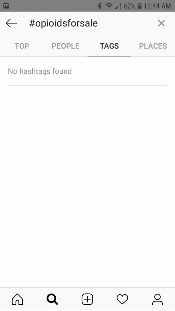 Hashtag insatagramma tag vietati
