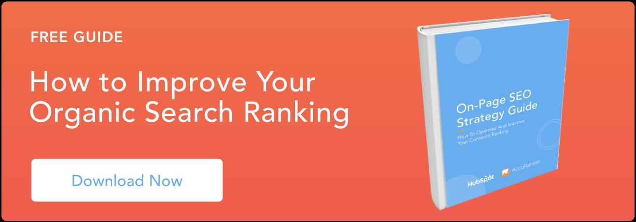 Migliora il tuo ranking di ricerca organica