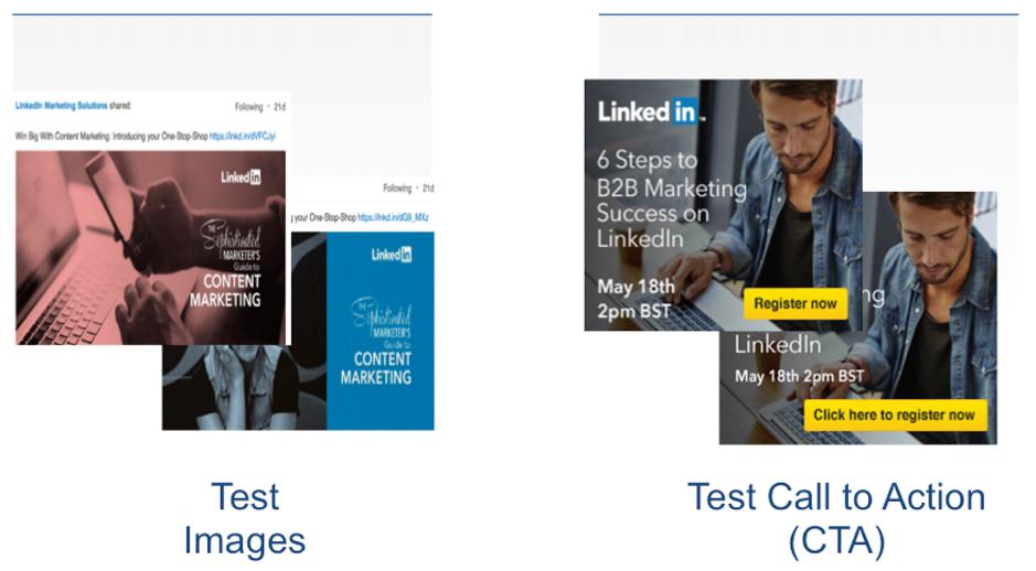 Creatività dell'annuncio LinkedIn