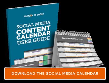 ottenere il modello di calendario contet social media gratuito