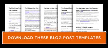 ottenere modelli di post di blog gratuiti