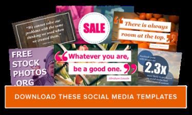 scarica gratuitamente i modelli di social media grafici