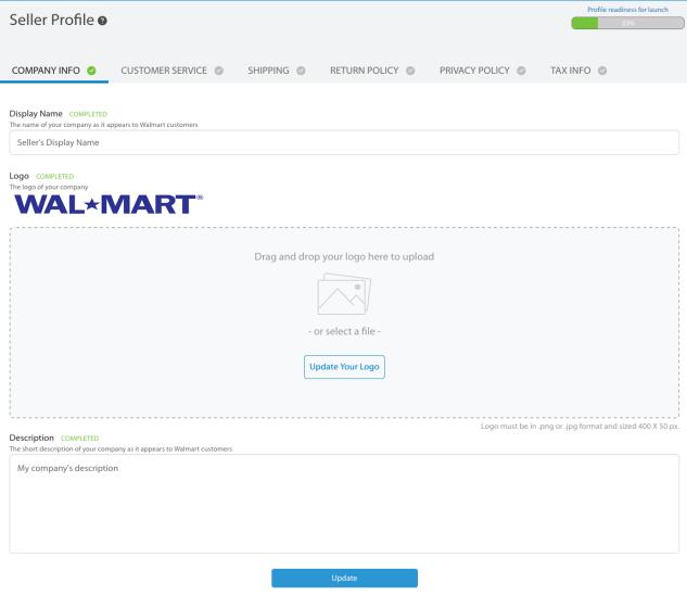 vendita su walmart marketplace profile profile