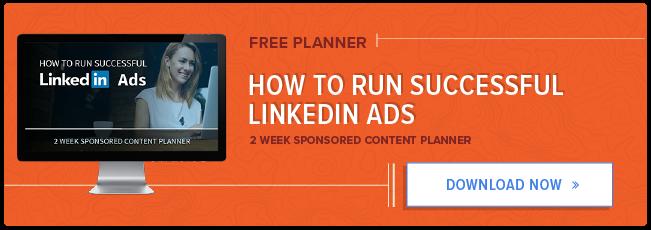 planner gratuito: come eseguire gli annunci di successo su LinkedIn