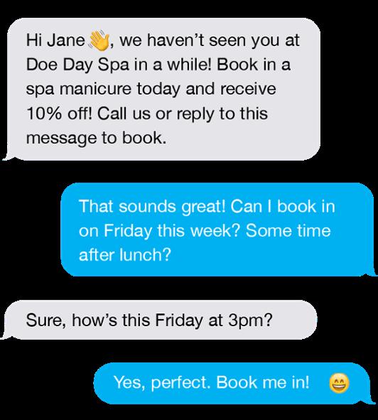 testo del servizio clienti
