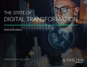 Lo stato della trasformazione digitale