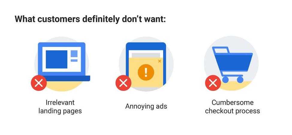Cosa non vogliono i clienti