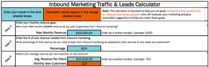 """Traffic_and_Leads_Calculator_Excel.png """"title ="""" Traffic_and_Leads_Calculator_Excel.png """"width ="""" 669 """"data-constrained ="""" true """"style ="""" display: block; margin-left: auto; margin-right: auto; """"srcset ="""" https://blog.hubspot.com/hs-fs/hubfs/Traffic_and_Leads_Calculator_Excel.png?width=335&name=Traffic_and_Leads_Calculator_Excel.png 335w, https://blog.hubspot.com/hs -fs / hubfs / Traffic_and_Leads_Calculator_Excel.png? width = 669 & name = Traffic_and_Leads_Calculator_Excel.png 669w, https://blog.hubspot.com/hs-fs/hubfs/Traffic_and_Leads_Calculator_Excel.png?width=1004&name=Traffic_and_Leads_Calculator_Excel.png 1004w, https: / /blog.hubspot.com/hs-fs/hubfs/Traffic_and_Leads_Calculator_Excel.png?width=1338&name=Traffic_and_Leads_Calculator_Excel.png 1338w, https://blog.hubspot.com/hs-fs/hubfs/Traffic_and_Leads_Calculator_Excel.png?width=1673&name= Traffic_and_Leads_Calculator_Excel.png 1673w, https://blog.hubspot.com/hs-fs/hubfs/Traffic_and_Leads_Calculator_Excel.png?width=2007&name=Traffic_and_Leads_Calculator_Excel.png 2007w """"sizes ="""" (larghezza massima: 669px) 100vw, 669px"""