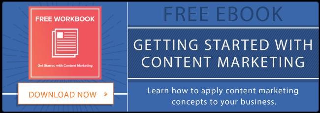 Cartella di lavoro di content marketing