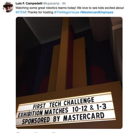 La difesa dei dipendenti di Mastercard tweet 2