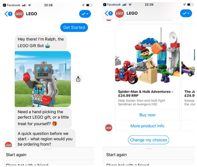 Chatbot LEGO