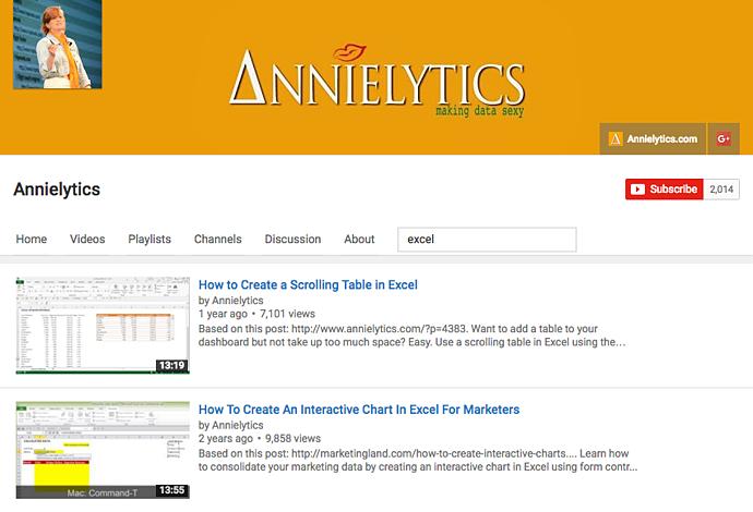 "Tutorial video di Excel di Annielytics ""title ="" annielytics-excel-videos.png ""width ="" 690 ""height ="" 470 ""srcset ="" https://blog.hubspot.com/hs-fs/hubfs/annielytics-excel- videos.png? width = 345 & height = 235 & name = annielytics-excel-videos.png 345w, https://blog.hubspot.com/hs-fs/hubfs/annielytics-excel-videos.png?width=690&height=470&name=annielytics -excel-videos.png 690w, https://blog.hubspot.com/hs-fs/hubfs/annielytics-excel-videos.png?width=1035&height=705&name=annielytics-excel-videos.png 1035w, https: / /blog.hubspot.com/hs-fs/hubfs/annielytics-excel-videos.png?width=1380&height=940&name=annielytics-excel-videos.png 1380w, https://blog.hubspot.com/hs-fs/ hubfs / annielytics-excel-videos.png? width = 1725 & height = 1175 & name = annielytics-excel-videos.png 1725w, https://blog.hubspot.com/hs-fs/hubfs/annielytics-excel-videos.png?width = 2070 & height = 1410 & name = annielytics-excel-videos.png 2070w ""sizes ="" (larghezza massima: 690px) 100vw, 690px"