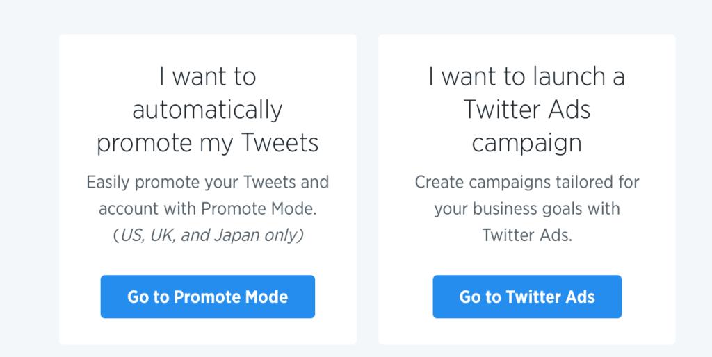 Pubblicità su Twitter nel 2018