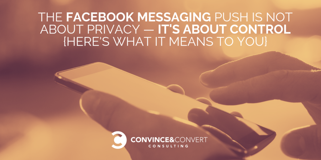 Facebook Messaging Push - Privacy