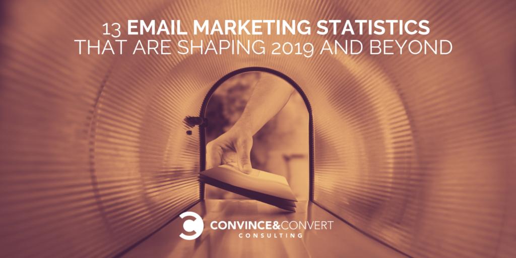 Statistiche di email marketing per il 2019
