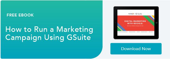 Come eseguire una campagna di marketing con GSuite