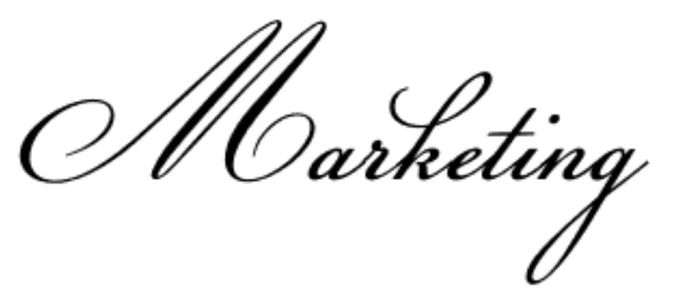 Fonte di calligrafia formale chiamata Champignon