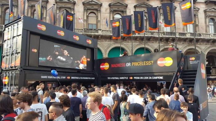 Mastercard Promozioni UEFA Champions League di Milano