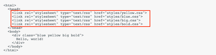 "separate-css-files ""width ="" 690 ""style ="" width: 690px; ""srcset ="" https://blog.hubspot.com/hs-fs/hubfs/separate-css-files.jpg?width=345&name= separate-css-files.jpg 345w, https://blog.hubspot.com/hs-fs/hubfs/separate-css-files.jpg?width=690&name=separate-css-files.jpg 690w, https: // blog.hubspot.com/hs-fs/hubfs/separate-css-files.jpg?width=1035&name=separate-css-files.jpg 1035w, https://blog.hubspot.com/hs-fs/hubfs/separate -css-files.jpg? width = 1380 & name = separate-css-files.jpg 1380w, https://blog.hubspot.com/hs-fs/hubfs/separate-css-files.jpg?width=1725&name=separate- css-files.jpg 1725w, https://blog.hubspot.com/hs-fs/hubfs/separate-css-files.jpg?width=2070&name=separate-css-files.jpg 2070w ""sizes ="" (max. larghezza: 690 px) 100vw, 690 px"