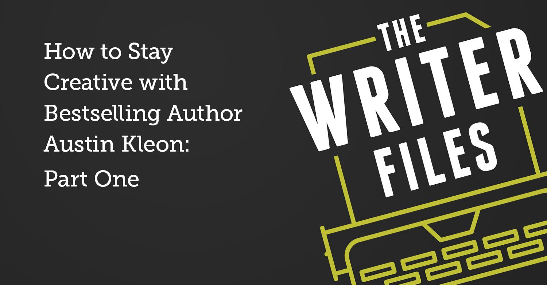 Come rimanere creativi con il bestseller Autore Austin Kleon: prima parte