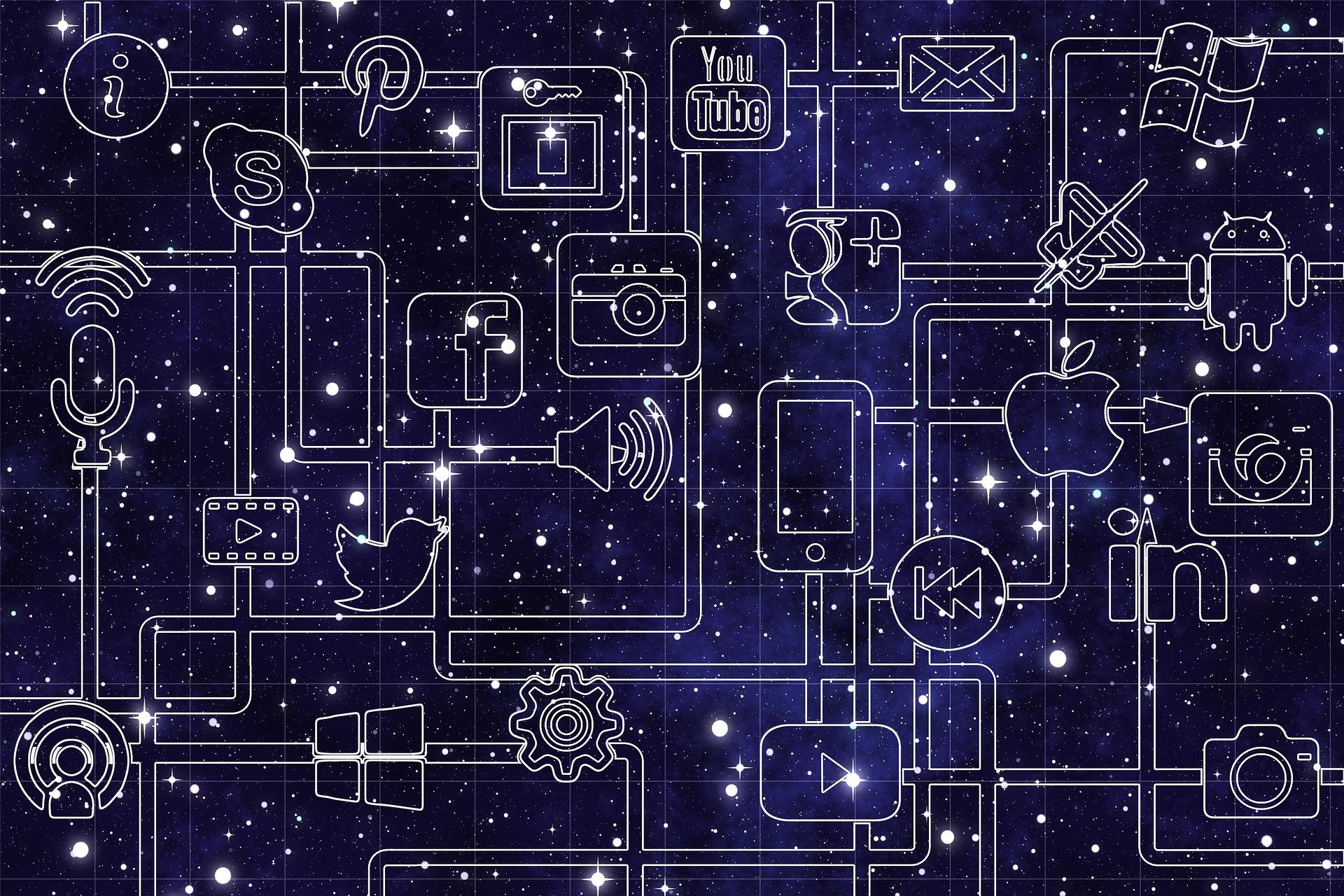 L'influenza della tecnologia sui social media