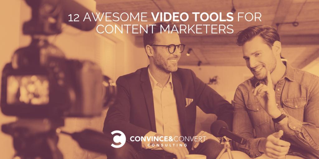 Strumenti video per Content Marketing