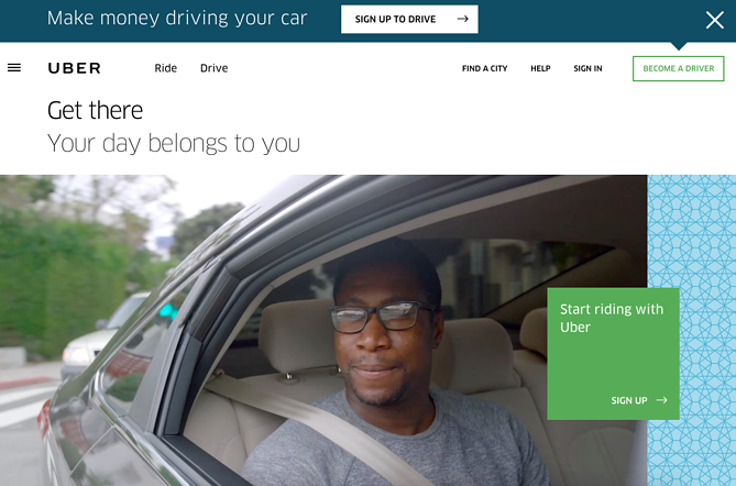 """Uber double call to action buttons"""" title=""""uber-double-cta.png"""" width=""""669"""" height=""""442"""" srcset=""""https://blog.hubspot.com/hs-fs/hubfs/uber-double-cta.png?width=335&height=221&name=uber-double-cta.png 335w, https://blog.hubspot.com/hs-fs/hubfs/uber-double-cta.png?width=669&height=442&name=uber-double-cta.png 669w, https://blog.hubspot.com/hs-fs/hubfs/uber-double-cta.png?width=1004&height=663&name=uber-double-cta.png 1004w, https://blog.hubspot.com/hs-fs/hubfs/uber-double-cta.png?width=1338&height=884&name=uber-double-cta.png 1338w, https://blog.hubspot.com/hs-fs/hubfs/uber-double-cta.png?width=1673&height=1105&name=uber-double-cta.png 1673w, https://blog.hubspot.com/hs-fs/hubfs/uber-double-cta.png?width=2007&height=1326&name=uber-double-cta.png 2007w"""" sizes=""""(max-width: 669px) 100vw, 669px"""