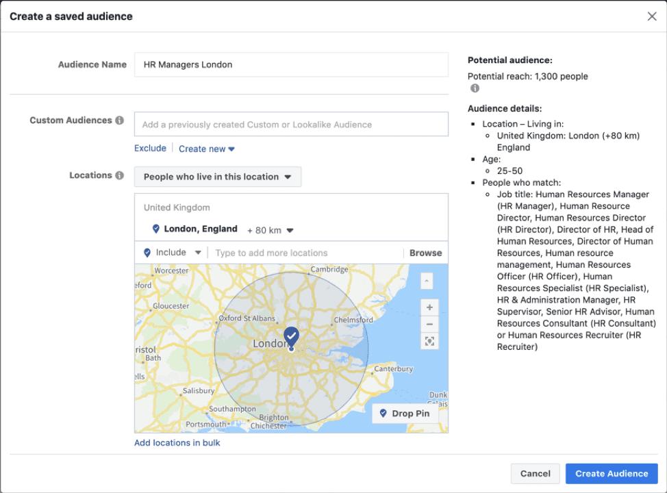 Ad Manager di Facebook
