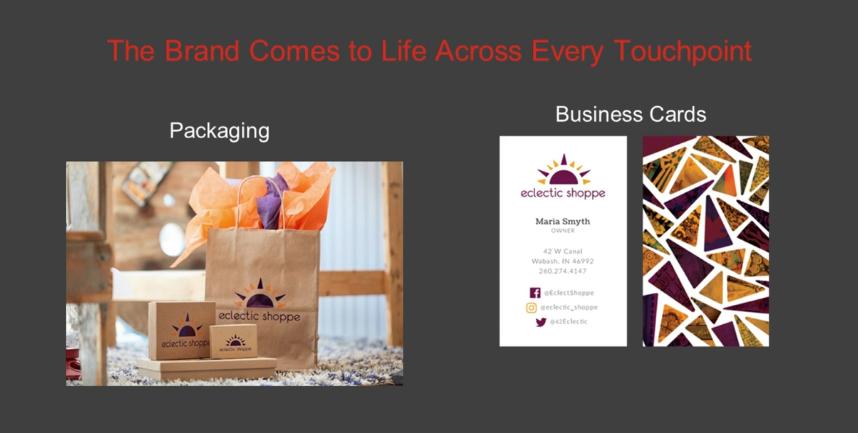 webinar per biglietti da visita e packaging da società di e-commerce