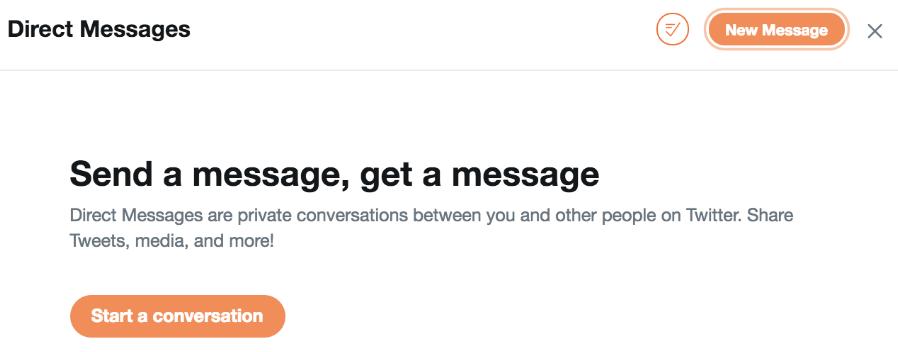 -messaggi twitter-diretti