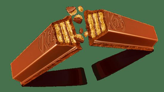 Kit Kat che si spezza