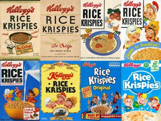 Marchio di design Krispies Rice