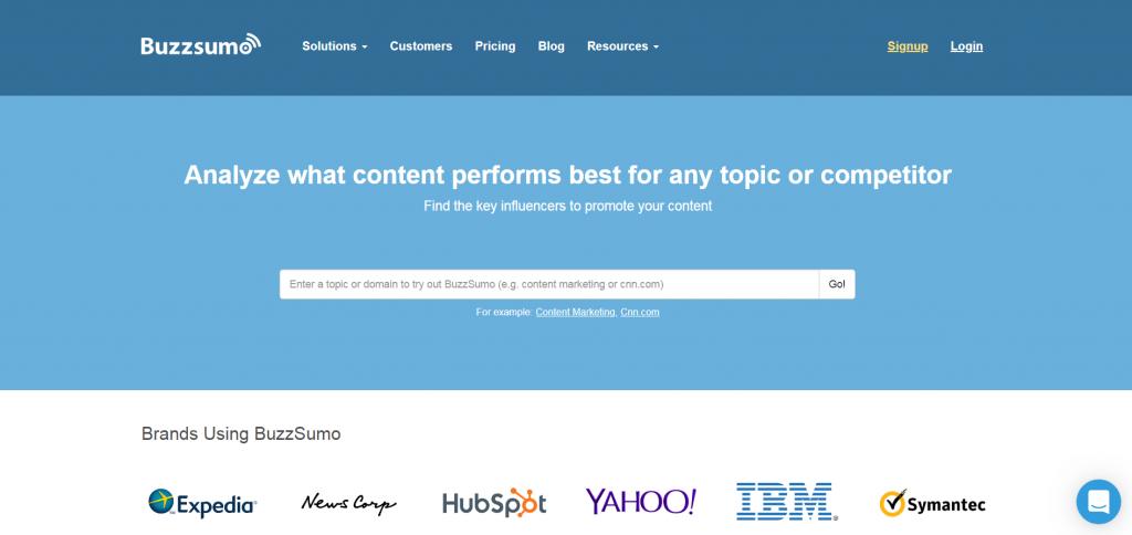 esempio di homepage che consente agli utenti di provare il prodotto