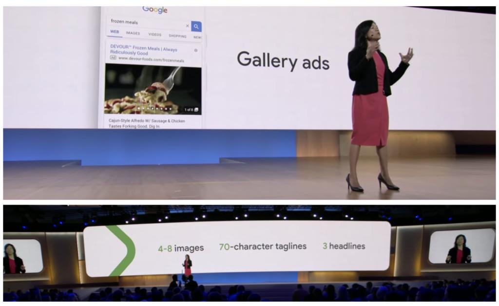 Sissie Hsiao VP, app per dispositivi mobili Google presenta annunci per gallerie
