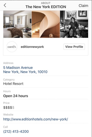 Instagram-locale-affari-profili