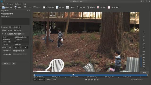 app di editing video shotcut