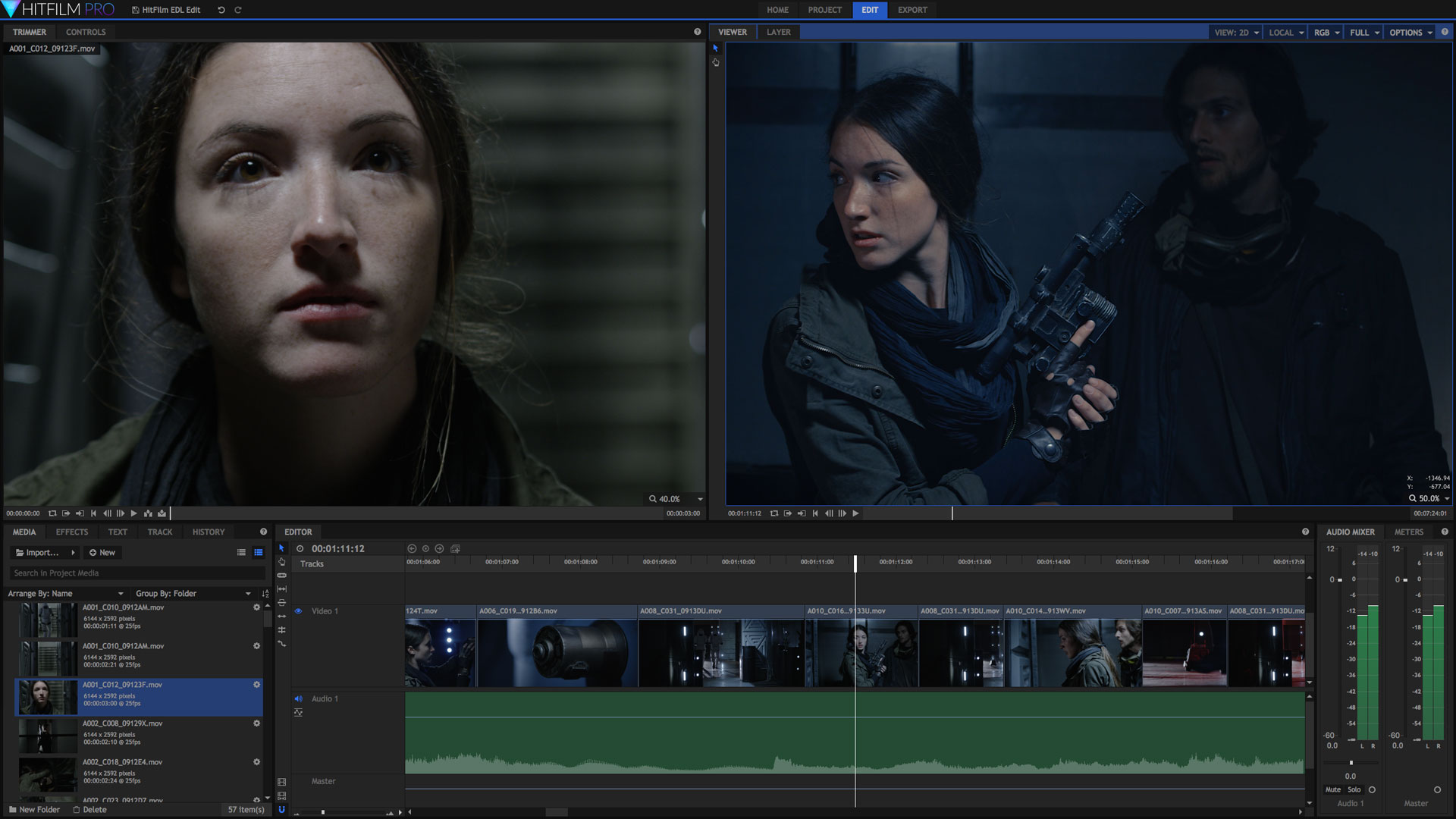 hitfilm app di editing video