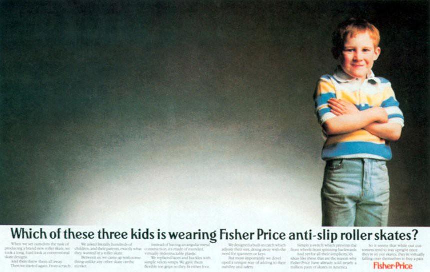 Annuncio di Fisher-Price