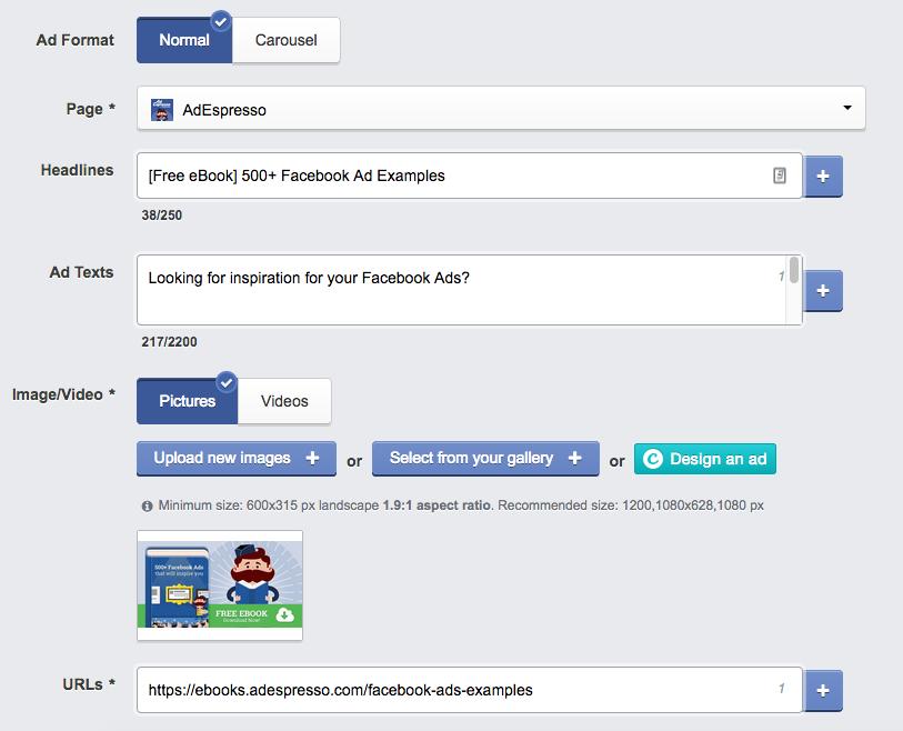 Campagna pubblicitaria di lead magnete di Facebook