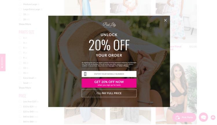 promo gioielli rosa giglio online