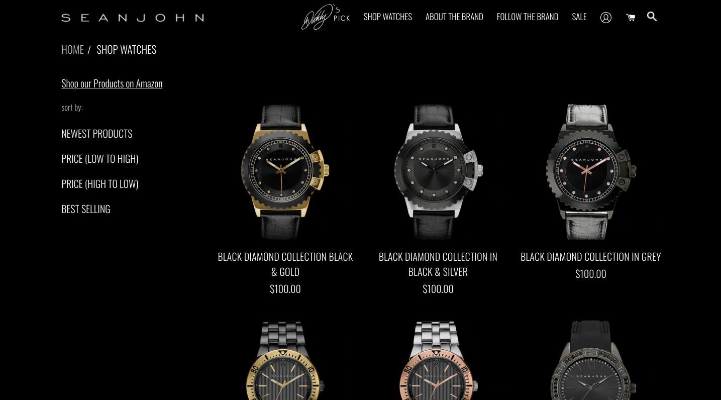 gioielli online sean john orologi