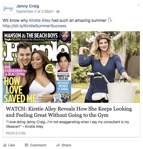 "Jenny_Craig_Celebrity.png ""width ="" 496 ""height ="" 519 ""style ="" display: block; margin-left: auto; margin-right: auto; ""srcset ="" https://blog.hubspot.com/hs-fs/hubfs/Jenny_Craig_Celebrity.png?width=248&height=260&name=Jenny_Craig_Celebrity.png 248w, https://blog.hubspot.com /hs-fs/hubfs/Jenny_Craig_Celebrity.png?width=496&height=519&name=Jenny_Craig_Celebrity.png 496w, https://blog.hubspot.com/hs-fs/hubfs/Jenny_Craig_Celebrity.png?width=744&height=779&name=Jenny_Craig_Celebrity. png 744w, https://blog.hubspot.com/hs-fs/hubfs/Jenny_Craig_Celebrity.png?width=992&height=1038&name=Jenny_Craig_Celebrity.png 992w, https://blog.hubspot.com/hs-fs/hubfs/ Jenny_Craig_Celebrity.png? Width = 1240 & height = 1298 & name = Jenny_Craig_Celebrity.png 1240w, https://blog.hubspot.com/hs-fs/hubfs/Jenny_Craig_Celebrity.png?width=1488&height=1557&name=Jenny_Craig_Celebrity.png 1488w ""sizes ="" ( larghezza massima: 496 px) 100vw, 496 px"