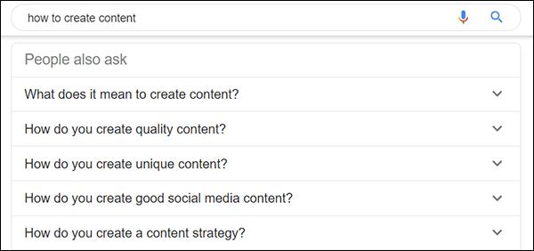 Per ottenere uno snippet in primo piano è necessario cercare ciò che le persone chiedono anche su Google