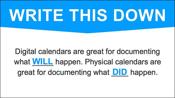 Come documentare la tua giornata
