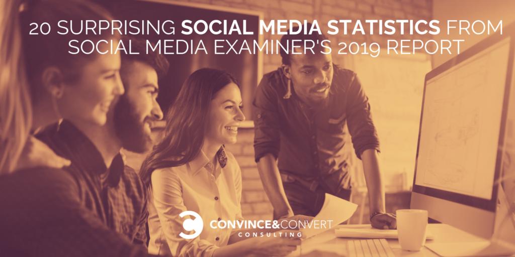 20 Sorprendenti statistiche sui social media dal rapporto sull'industria del social media del 2019